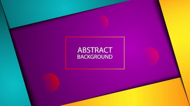 Kleurrijke abstracte geometrische achtergrond