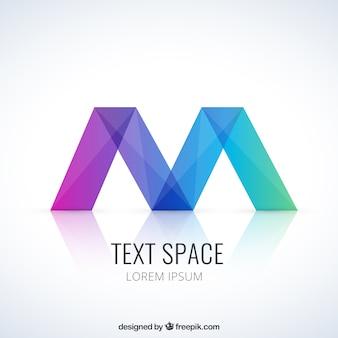 Kleurrijke abstracte logo