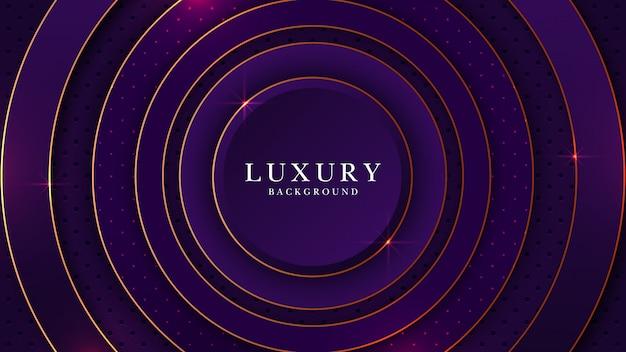 Kleurrijke abstracte luxe achtergrondpremie