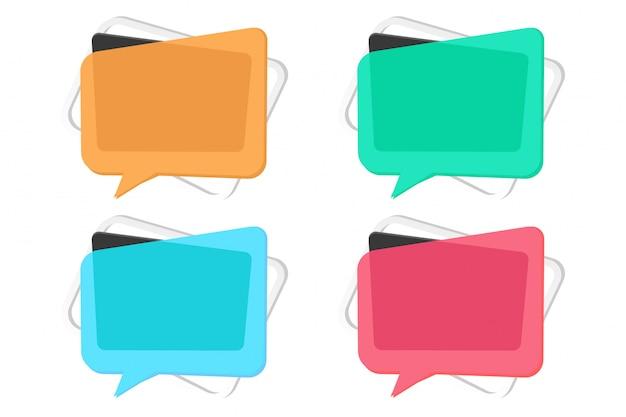 Kleurrijke abstracte moderne memphis banner pack sjabloon