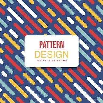 Kleurrijke abstracte patroon achtergrond met lijnen