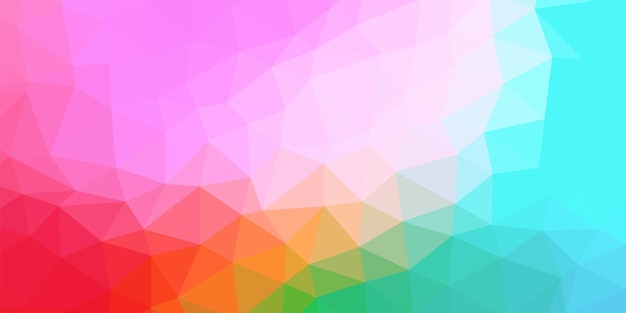Kleurrijke abstracte veelhoekige ruimte laag poly achtergrond. verbindingsstructuur. vector wetenschap achtergrond. veelhoekige vector achtergrond.