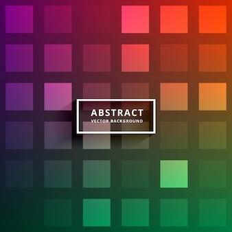 Kleurrijke abstracte vierkante tegels achtergrond