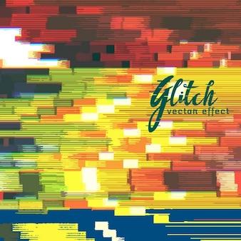 Kleurrijke achtergrond, glitch effect