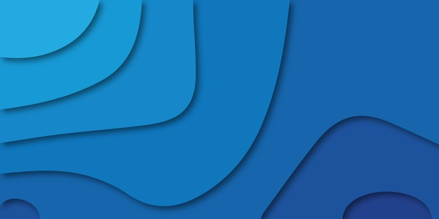 Kleurrijke achtergrond in de kleuren lichtblauw en donkerblauw.