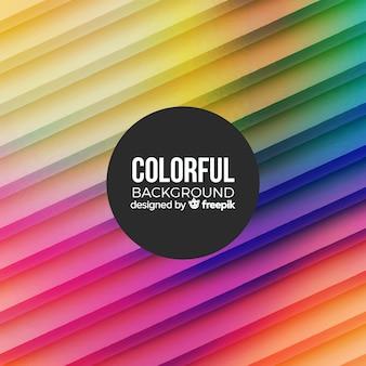 Kleurrijke achtergrond met abstracte vormen