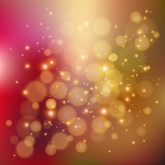 Kleurrijke achtergrond met intreepupil lichten