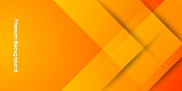 Kleurrijke achtergrond met kleurovergang oranje abstracte vormen