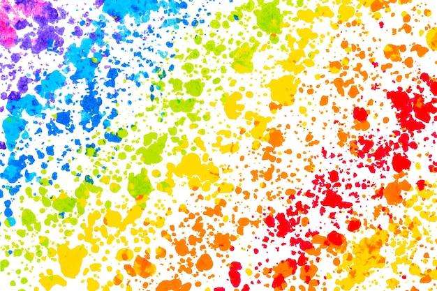 Kleurrijke achtergrond vector met wax gesmolten kleurpotlood art