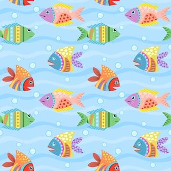 Kleurrijke artistieke achtergrond. aquarium.