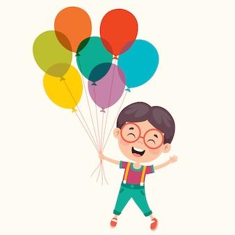 Kleurrijke ballonnen voor feestdecoratie