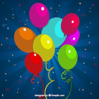 Kleurrijke ballonnen