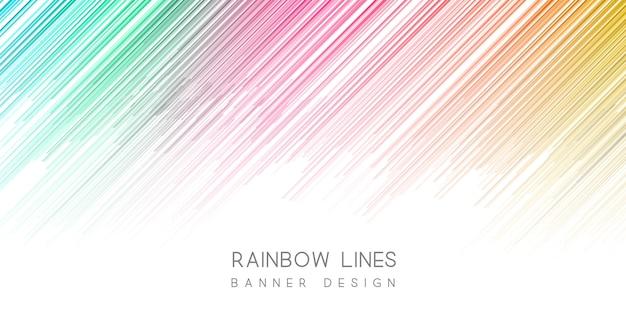 Kleurrijke banner