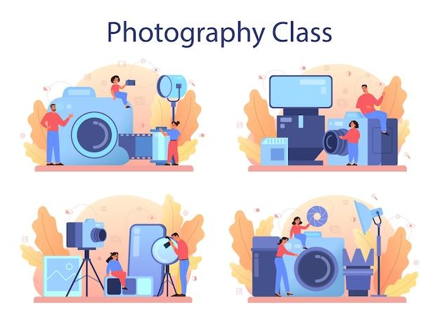 Kleurrijke beroep illustratie