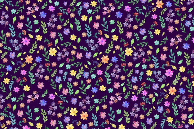 Kleurrijke bloemenachtergrond