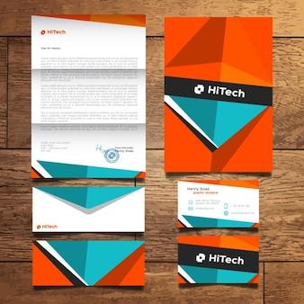 Kleurrijke briefpapier