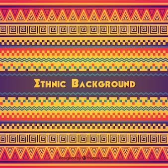 Kleurrijke etnische achtergrond