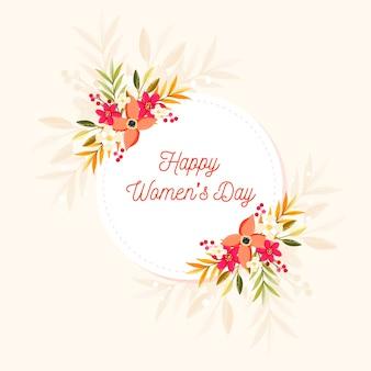 Kleurrijke gelukkige vrouwendag