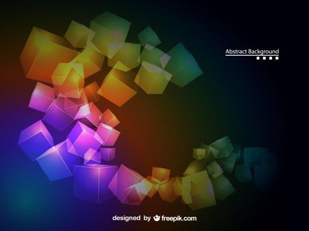Kleurrijke geometrische abstracte achtergrond