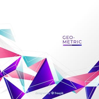 Kleurrijke geometrische achtergrond