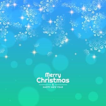 Kleurrijke glanzende merry christmas festival achtergrond