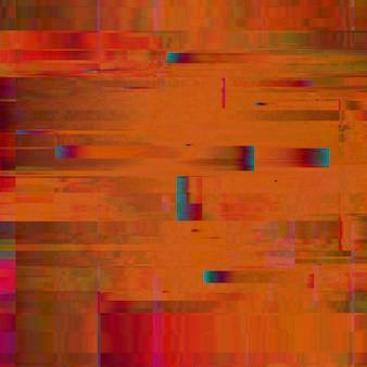 Kleurrijke glitch achtergrond