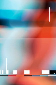 Kleurrijke glitch-effect vervormingsachtergrond