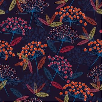 Kleurrijke hand getrokken naadloze vector patroon