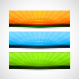 Kleurrijke headers
