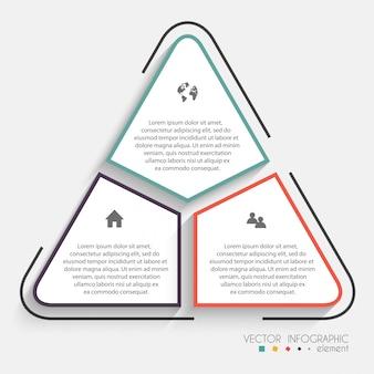 Kleurrijke info graphics