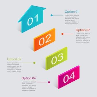 Kleurrijke infografieken voor uw zakelijke presentaties.