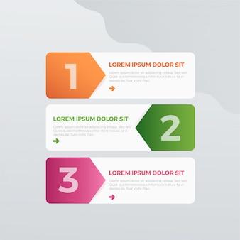 Kleurrijke infographic
