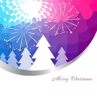 Kleurrijke kerst achtergrond