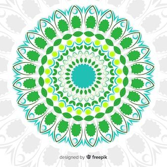 Kleurrijke mandala achtergrond