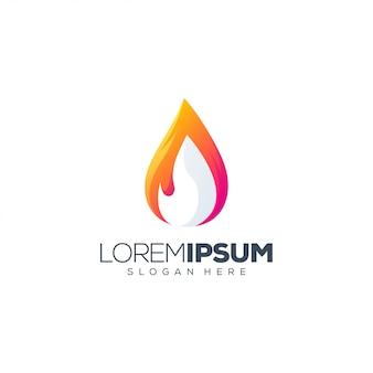 Kleurrijke mensen logo sjabloon
