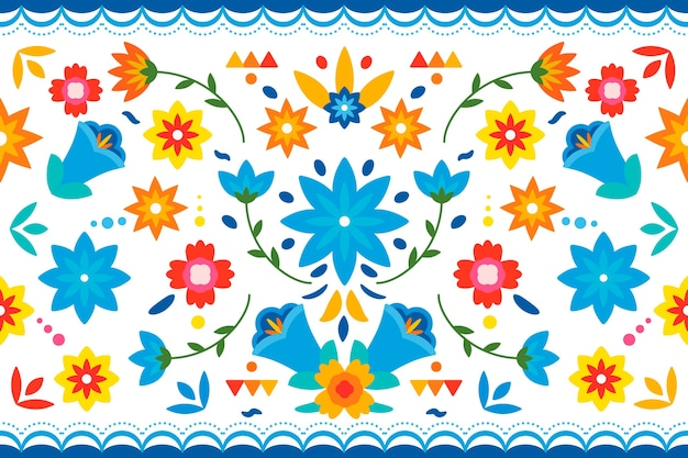 Kleurrijke mexicaanse achtergrond