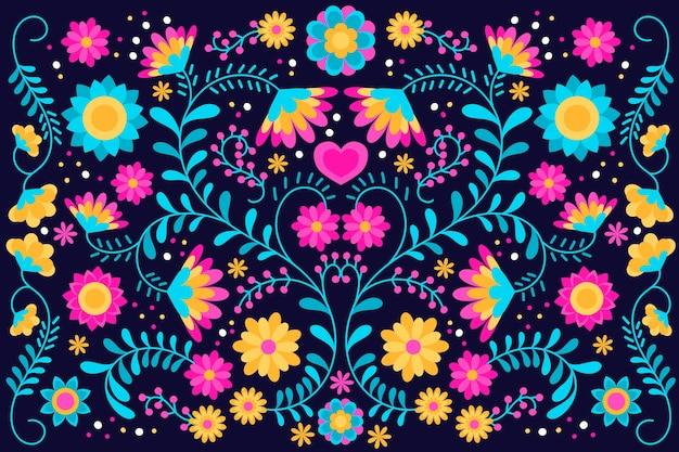 Kleurrijke mexicaanse screensaver