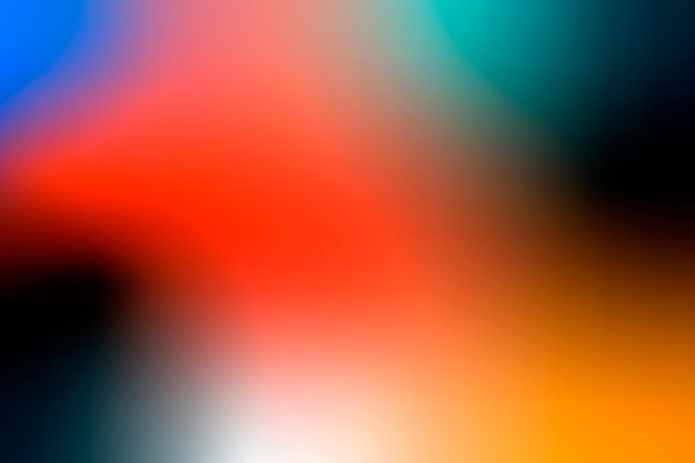 Kleurrijke moderne gradiëntvector als achtergrond in rood en groen