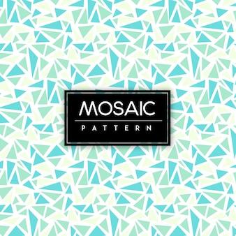 Kleurrijke mozaïek naadloze patroon achtergrond