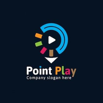 Kleurrijke multimedia logo