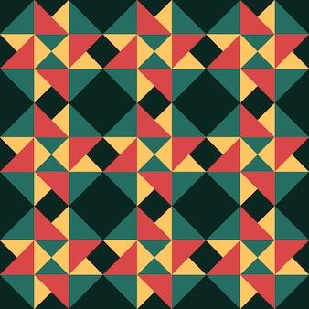 Kleurrijke naadloze geometrische patroon