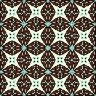 Kleurrijke naadloze patroon achtergrond