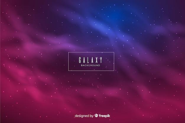 Kleurrijke nevel galaxy achtergrond