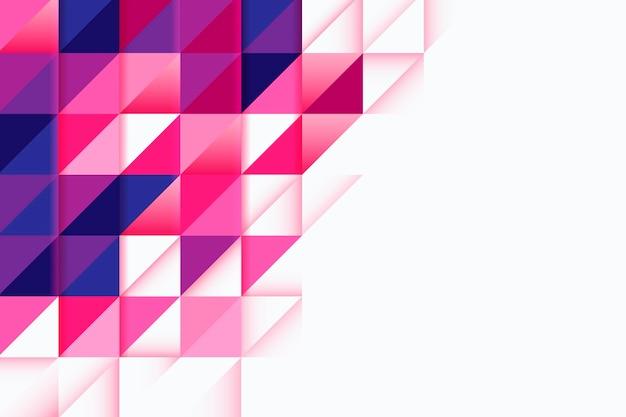 Kleurrijke overlappende vormenachtergrond