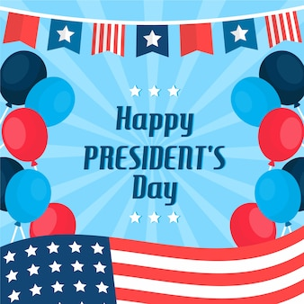 Kleurrijke president's daggroet