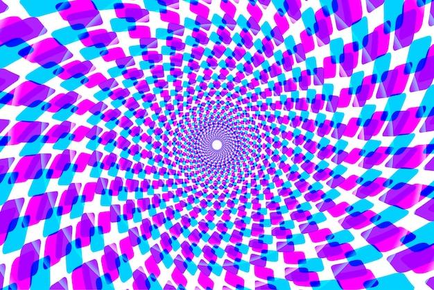 Kleurrijke psychedelische caleidoscoop achtergrond