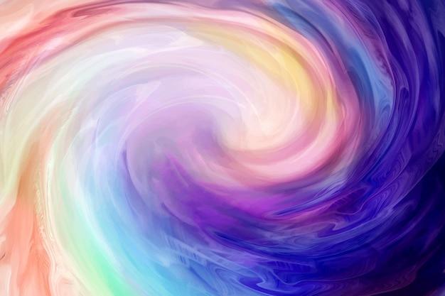 Kleurrijke rook beweging achtergrond