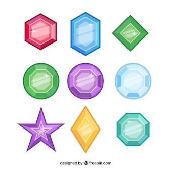 Kleurrijke sieradencollectie