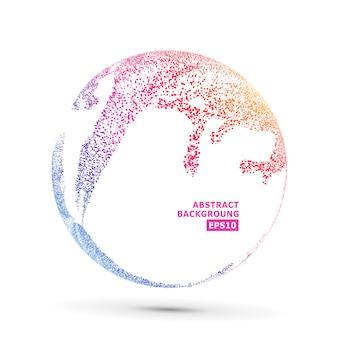 Kleurrijke sphere samenstelling