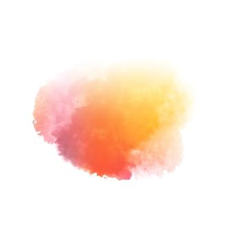 Kleurrijke stijlvolle aquarel splash ontwerp achtergrond
